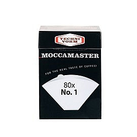金時代書香咖啡 Moccamaster NO.1號濾紙 80枚入盒