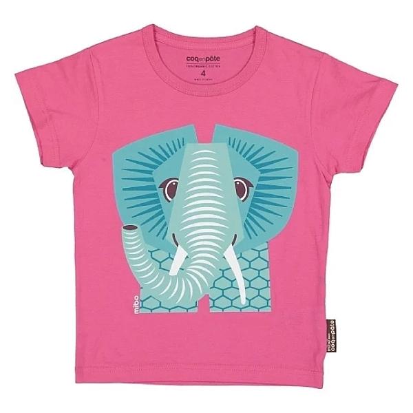 法國 COQENPATE 短袖T 大象 (1-6Y)