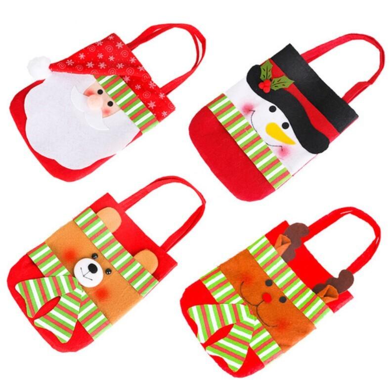 聖誕裝飾品 聖誕禮物袋 4款任選