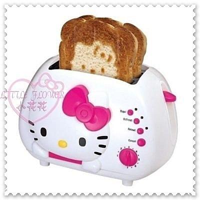 ♥小花花日本精品♥Hello Kitty白色立體大頭造型好實用精美萬用多功能烤麵包機歐美限定11061106