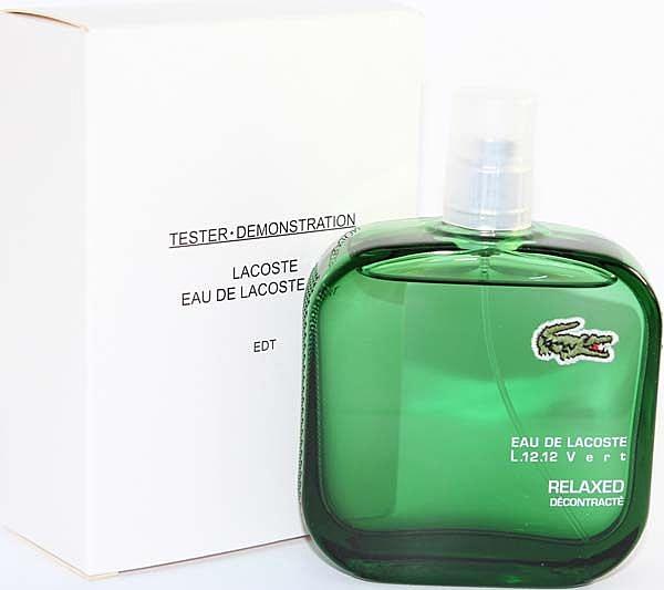 LACOSTE 綠色 Polo衫 男性淡香水 100ml (TEST包裝-無瓶蓋及外盒)【七三七香水精品坊】