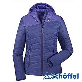 德國 SCHOFFEL 女 防風保暖 連帽外套 深紫 2011156