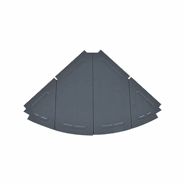 [Snowline] CF酷必家鋁板系統桌 轉角桌板 (兩色內選) (SN85UTA003)