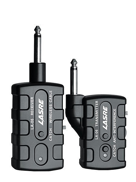 [唐尼樂器] LASRE LA-06 電木吉他/電吉他/電貝斯 Bass/ 鍵盤都可用無線訊號發射器/接送器