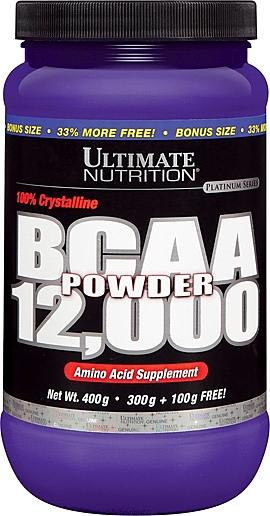 【線上體育】 ULTIMATE NUTRITION 支鏈胺基酸 12,000 powder, 400g