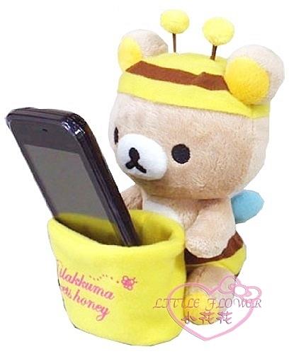 ♥小花花日本精品♥Rilakkuma拉拉熊懶懶熊輕鬆熊造型絨毛萬用置物皿車用手機座88926605