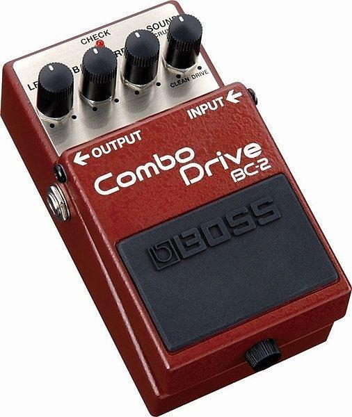 ☆ 唐尼樂器︵☆全新 BOSS BC-2 BC2 Combo Drive 電吉他破音單顆效果器
