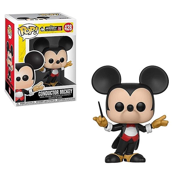 Funko POP! Disney 迪士尼公仔 米奇90週年 指揮家米奇 【鯊玩具Toy Shark】