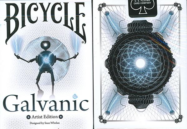 【USPCC 撲克】BICYCLE Galvanic 紀念限量 撲克牌