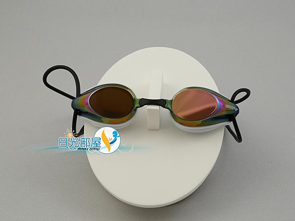 *日光部屋* arena (公司貨)/AGG-280M-WRBK 競泳/訓練/鍍膜/小鏡面泳鏡
