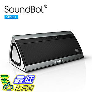 [美國直購] SoundBot SB521-GUN SB521 HD 3D Bluetooth 4.0 Wireless Speaker for 15Hrs Music Streaming 揚聲器