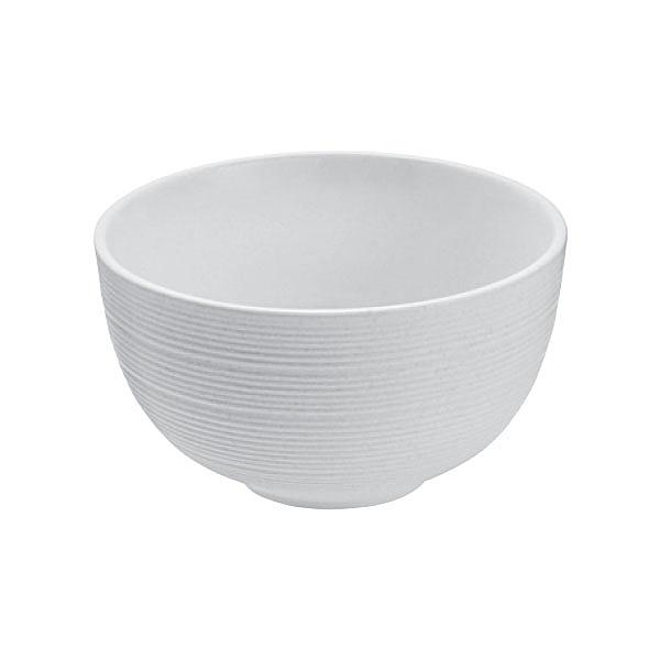 【Luzerne】陸升瓷器 Manhattan 曼哈頓摩登純白 8.5cm 湯碗 /LN3503009