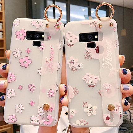 三星 Note10 創意簡約外殼保護套 SamSung note10 Plus  矽膠防摔個性手機殼  全包小清新手機套