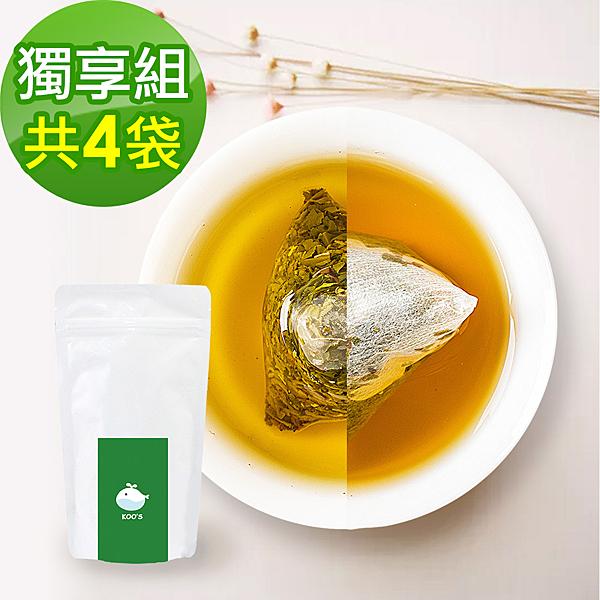 KOOS-香韻桂花烏龍茶+清韻金萱烏龍茶-獨享組各2袋(10包入)