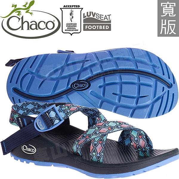 Chaco ZLW02_HE35尋蹤日蝕(寬) 女越野紓壓涼鞋-Z/Cloud 2 夾腳款運動鞋/美國佳扣水陸兩用鞋/沙灘拖鞋