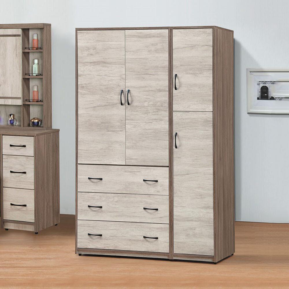 muna艾妮雅雙色4.3 x 7尺衣櫥