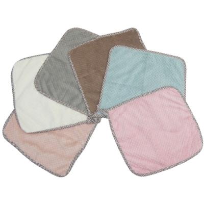 月陽超值6入加厚超細珊瑚絨靜電抹布洗碗巾擦車洗車巾(242306)顏色隨機出貨