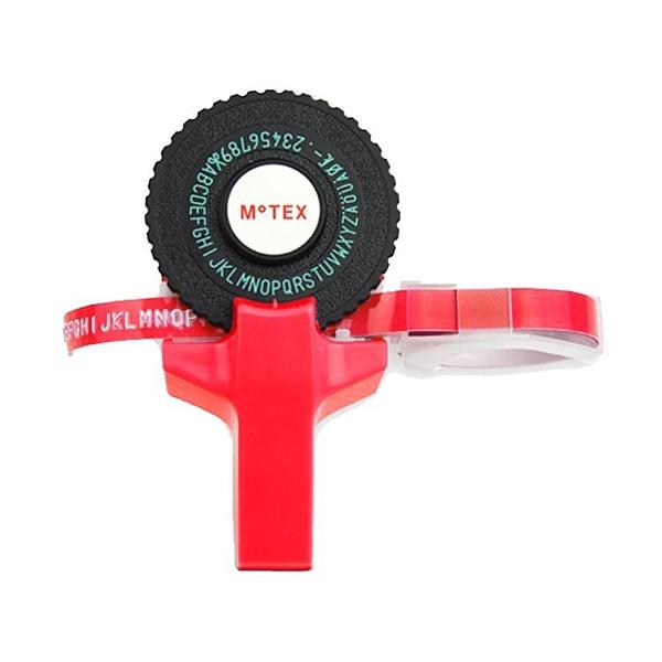打印機標簽機motexM101升級版筒裝手動迷你DIY貼紙3D膠帶【快速出貨】