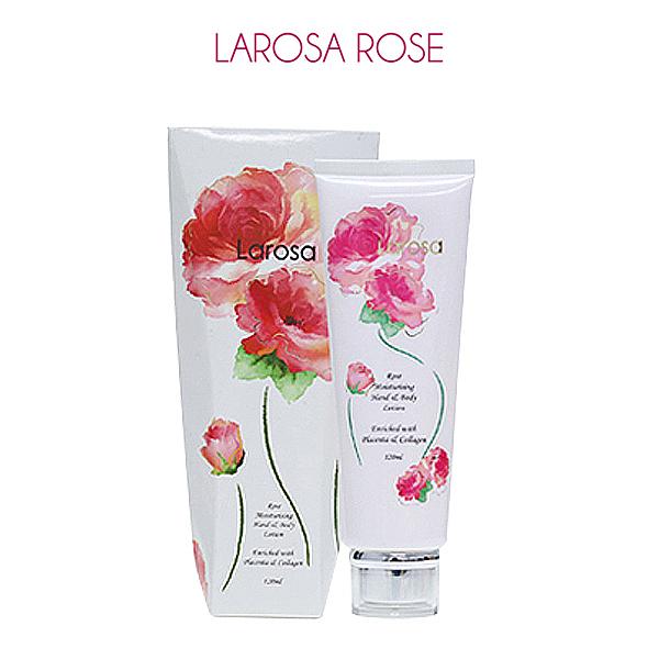 澳洲 Larosa 玫瑰精油羊胎素乳霜 120ml 身體乳液 保溼乳液【PQ 美妝】