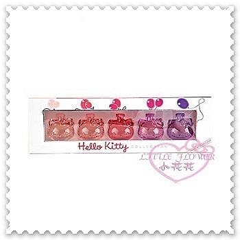 ♥小花花日本精品♥ Hello Kitty 臉頭造型超香限量精美精緻多香味多顏色香水禮盒33043500