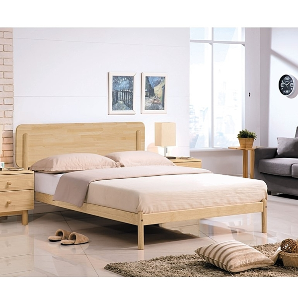 OB004-羅德北歐本色3.5尺木面床台(19HY2/B163-01)【DD House】