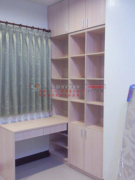 歐雅系統家具  整套系統臥房,化妝枱,書櫃 ,衣櫃 B0021