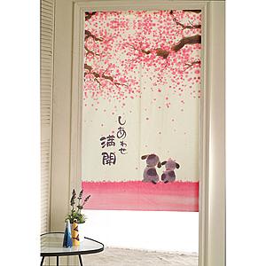 【三房兩廳】日式門簾-汪汪之戀-85x150cm