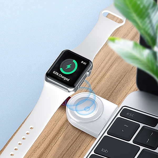 【TOTU】耀系列 USB款i Watch手錶磁力充電器 CACW-038