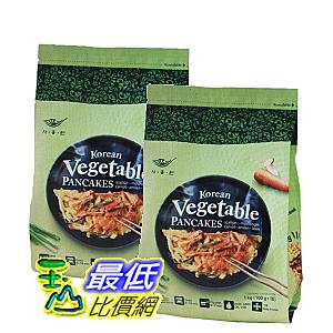 [COSCO代購] W123872 Saongwon 冷凍韓式蔬菜煎餅 100 公克 X10入 2包入