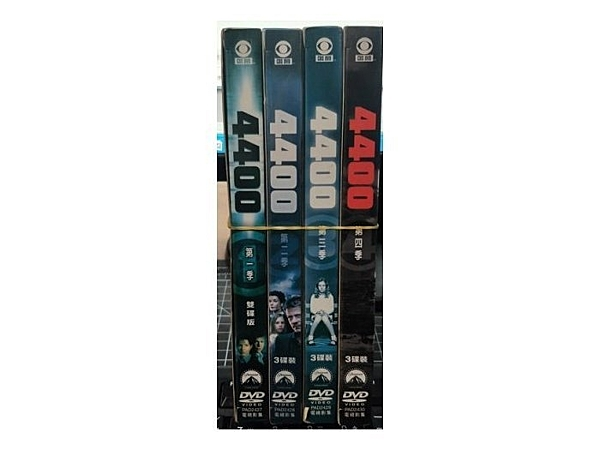挖寶二手片-R07-正版DVD-歐美影集【4400 第1~4季/系列合售】-(直購價)