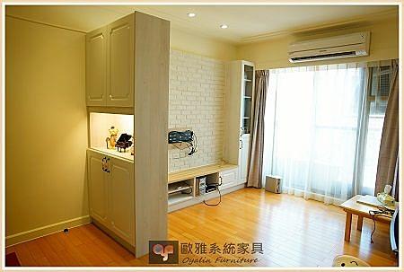 【歐雅 系統家具 】 客廳電視櫃搭配玄關鞋櫃
