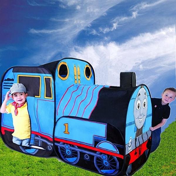 歐美男孩女孩兒童小火車游戲帳篷寶寶室內外益智玩具屋【快速出貨】