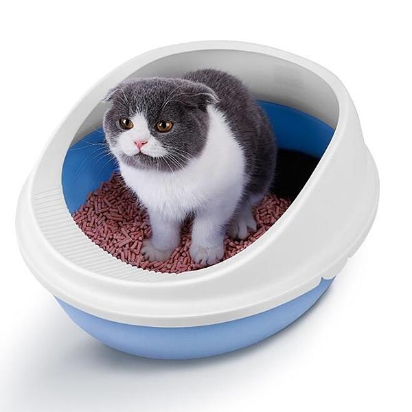 貓砂盆防外濺貓廁所特大號全半封閉自動貓沙盆貓砂貓屎盆貓咪用品【快速出貨】