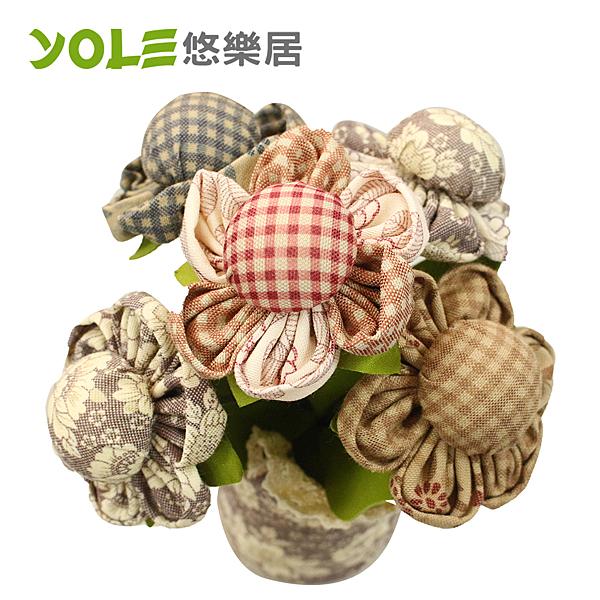 【YOLE悠樂居】爭妍-花藝造型香炭包-5花#1035059(2入) 竹炭包 除臭 除濕 芳香