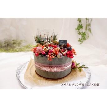 実もののクリスマスケーキ(キャンドル付き)