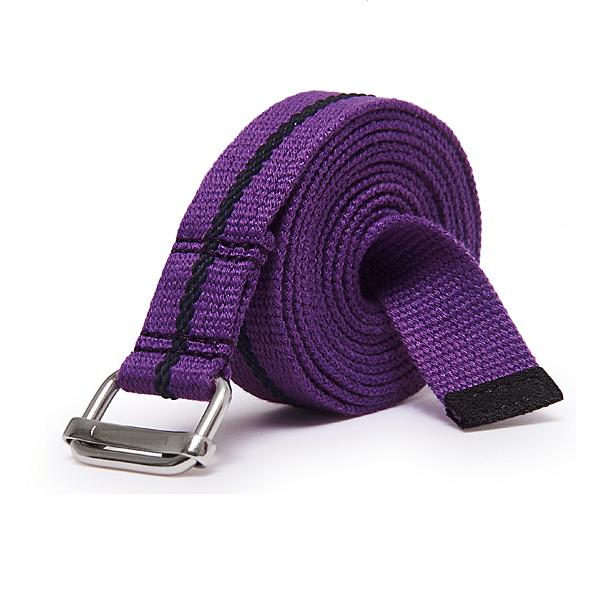 agoy 瑜珈伸展帶 環保止滑瑜珈繩 2.5cm x 91cm (二入) - 迷霧紫