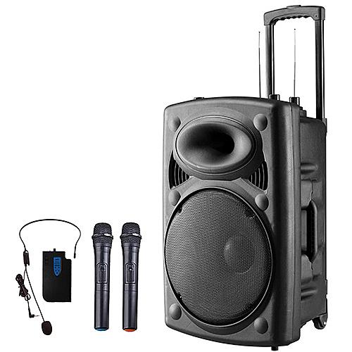 大聲公旗艦型無線式多功能行動音箱/喇叭/無線麥克風/教學擴音器