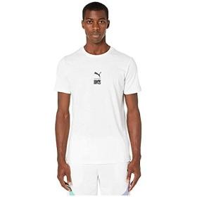 [PUMA(プーマ)] シャツ・ワイシャツ等 Puma X MTV T-Shirt PUMA White (M) [並行輸入品]