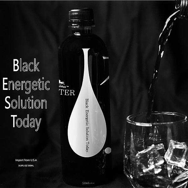 BlacMax 黑色礦質水500ml(6入)