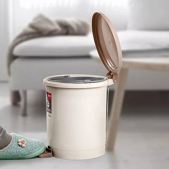腳踩垃圾桶家用客廳創意臥室衛生間大號分類腳踏式廚房帶蓋拉圾筒