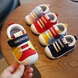 女寶寶鞋子春秋季男童0-1-2一3歲嬰兒鞋子學步鞋軟底透氣單鞋小童
