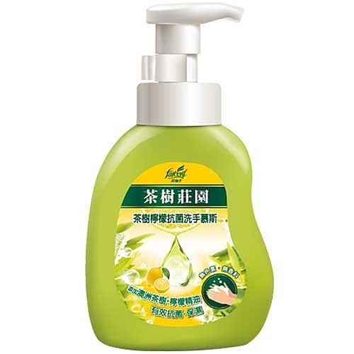 茶樹莊園 茶樹檸檬抗菌洗手幕斯 500g
