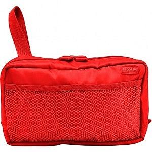 Lapoche 個人旅行盥洗包(大)-紅色