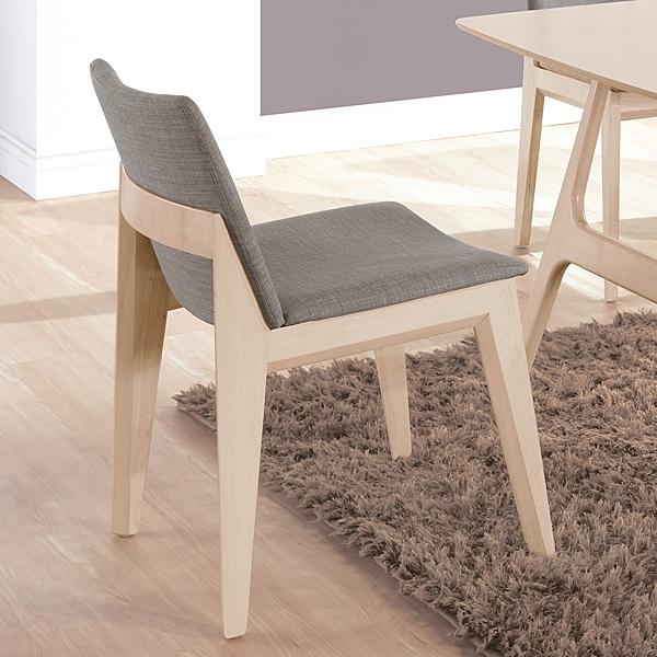 OB004-伊諾克洗白灰布餐椅(19HY2/B443-02)【DD House】