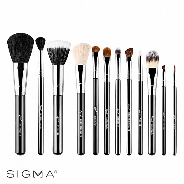 Sigma 刷具12件組-Essential Brush Kit - WBK SHOP