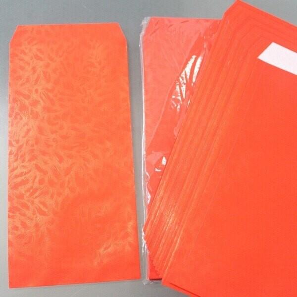 20k鳳尾紋香水禮袋 紅包袋 紅禮袋 1入10包