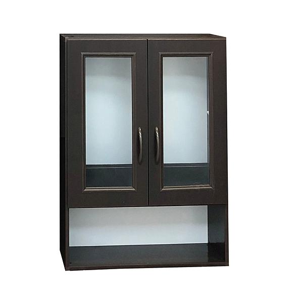 【采桔家居】泰迪 環保2.1尺塑鋼浴室二門吊櫃/收納吊櫃(三色可選)