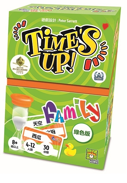 『高雄龐奇桌遊』時間到 家庭版 Times up! Family 繁體中文版 正版桌上遊戲專賣店