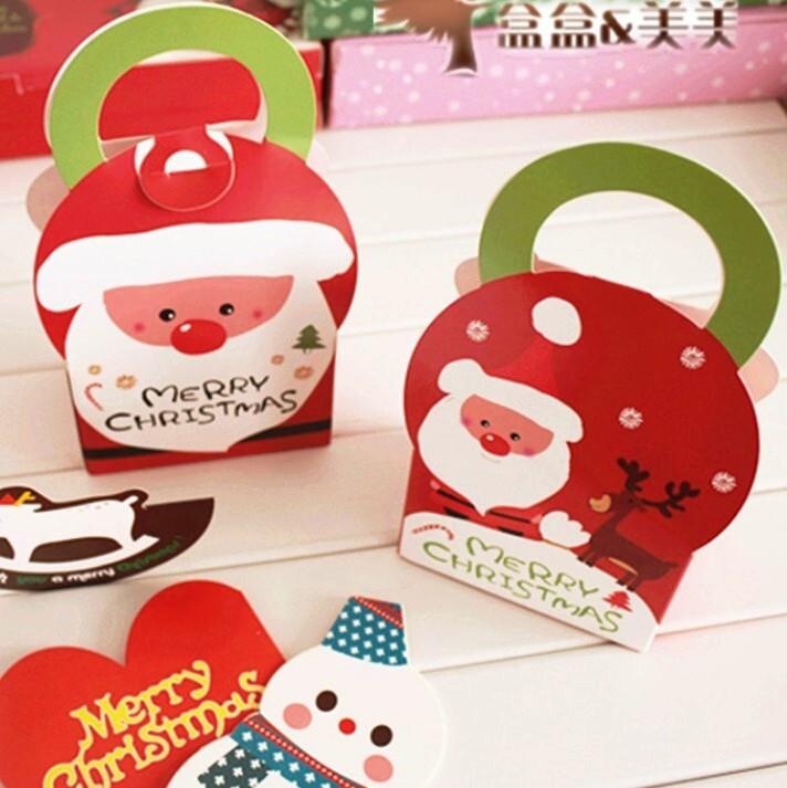 聖誕老公公 餅乾糖果包裝提盒