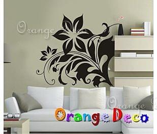 壁貼【橘果設計】花藤 DIY組合壁貼 牆貼 壁紙室內設計 裝潢 壁貼